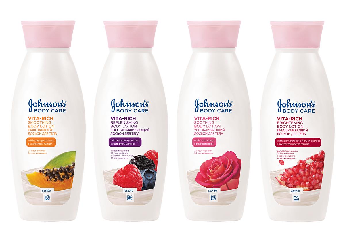Отзыв о молочке для тела Johnson's body care